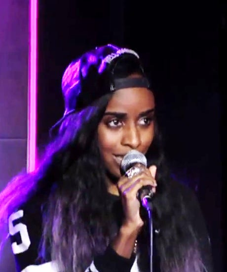 Angel Haze Raps All Over Beyoncé — Bow Down
