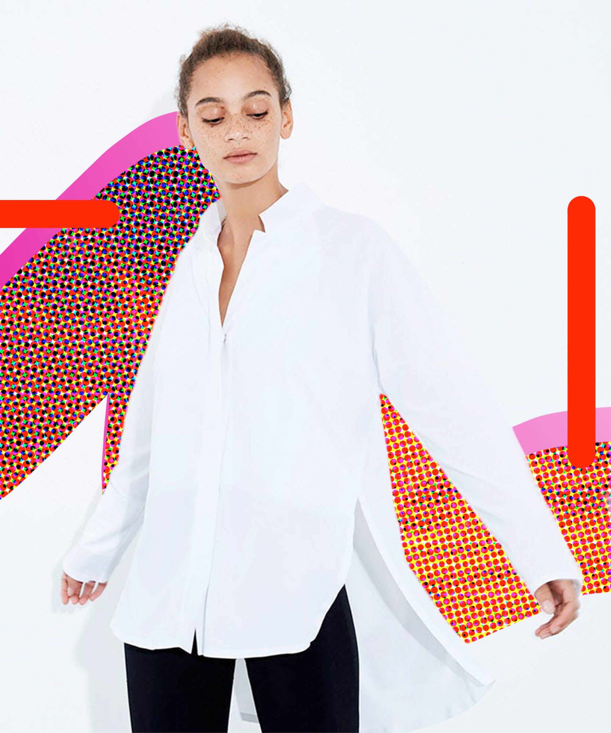 Adays Something Borrowed Shirt Is The White Shirt