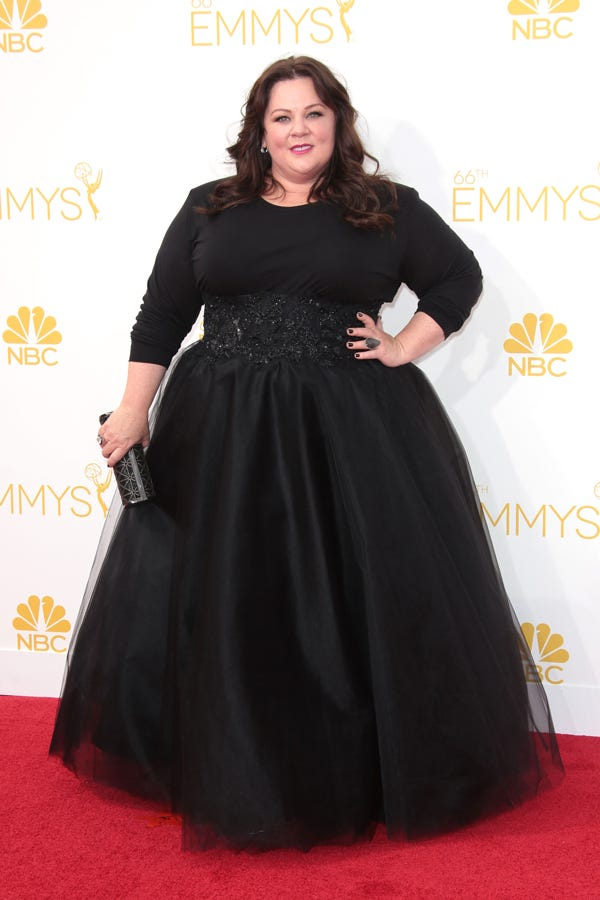 3da17d5b04a04 Best Emmy Plus Size Looks - Red Carpet Fashion
