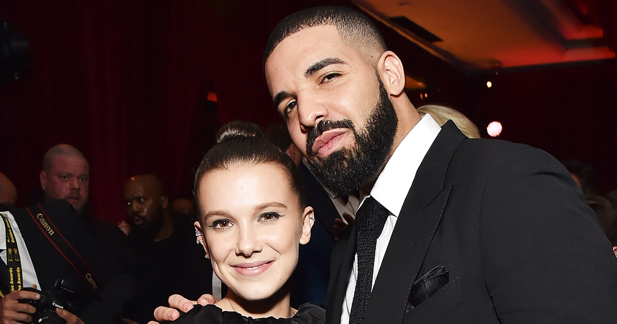 Millie Bobby Brown Doesn't Get Why Everyone's Being So Weird About Her & Drake
