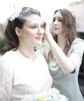 Wedding day beauty tips hair and makeup for brides it theres one occasion where you want to pay extra attention to beauty dos its your wedding and who better to dispense sage bridal beauty advice than malvernweather Gallery