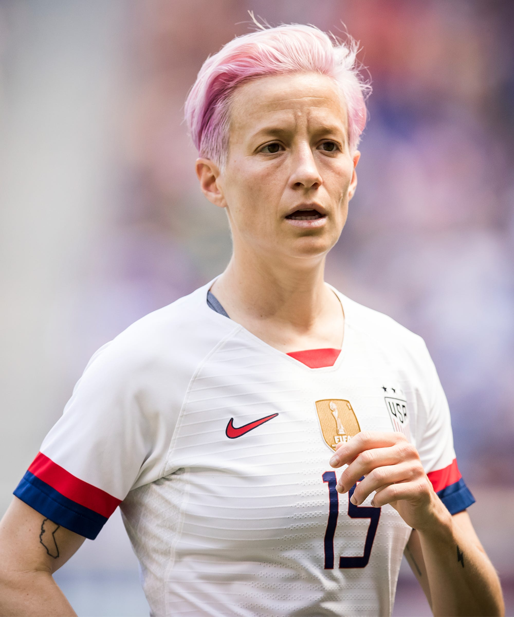 """Megan Rapinoe Wants To Know: Why The """"Resistance"""" To Paying Women In Soccer?"""