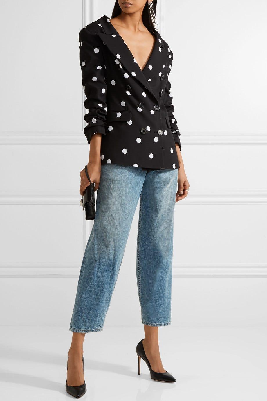 87d85908d7 Cute Ways To Wear The Polka Dot Trend Winter 2018