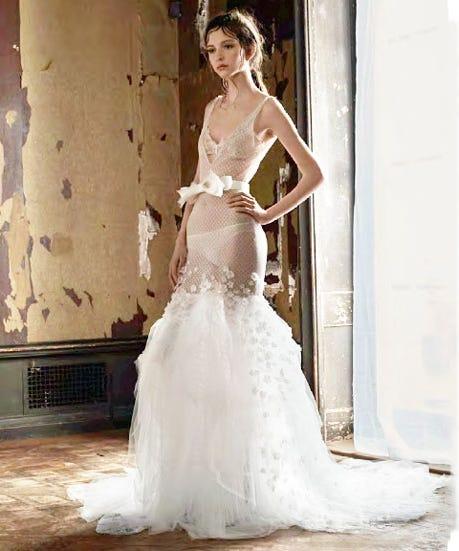 Vera Wang Spring 2016 Bridal Gowns