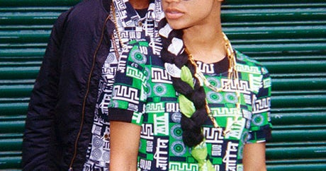 M.I.A.'s Versus Versace Collaboration Knocks Off Knockoffs