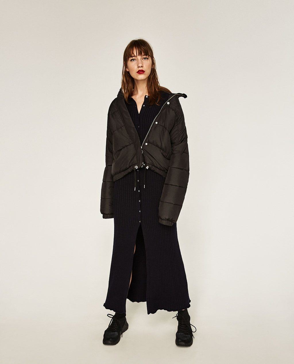 Zara Winter New Arrivals Cold Weather Trends