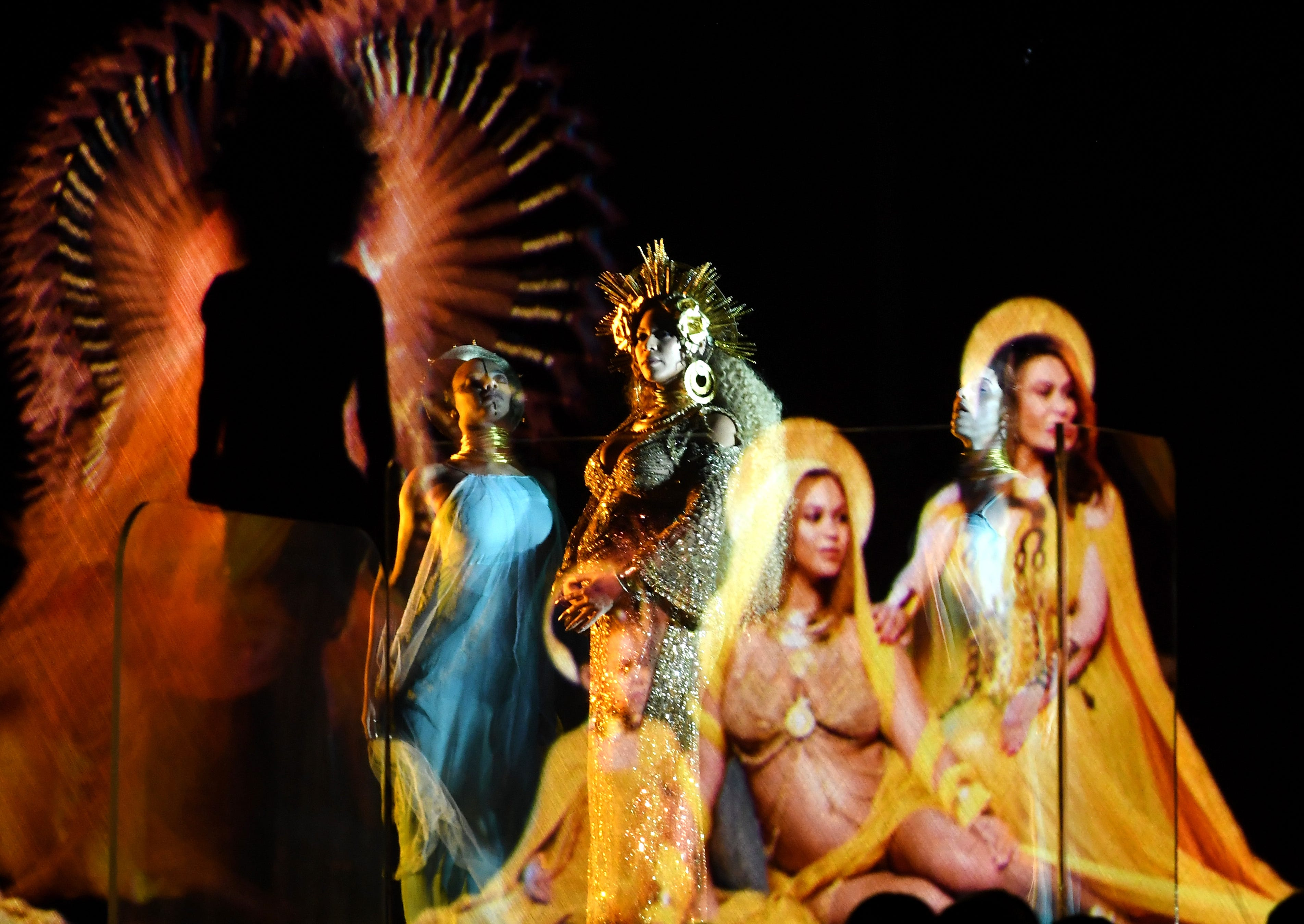 Beyonce grammys performance meaning religious symbolism biocorpaavc Choice Image
