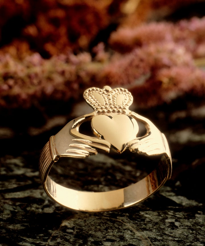 Claddagh Engagement Ring Irish Promise Ring Meaning