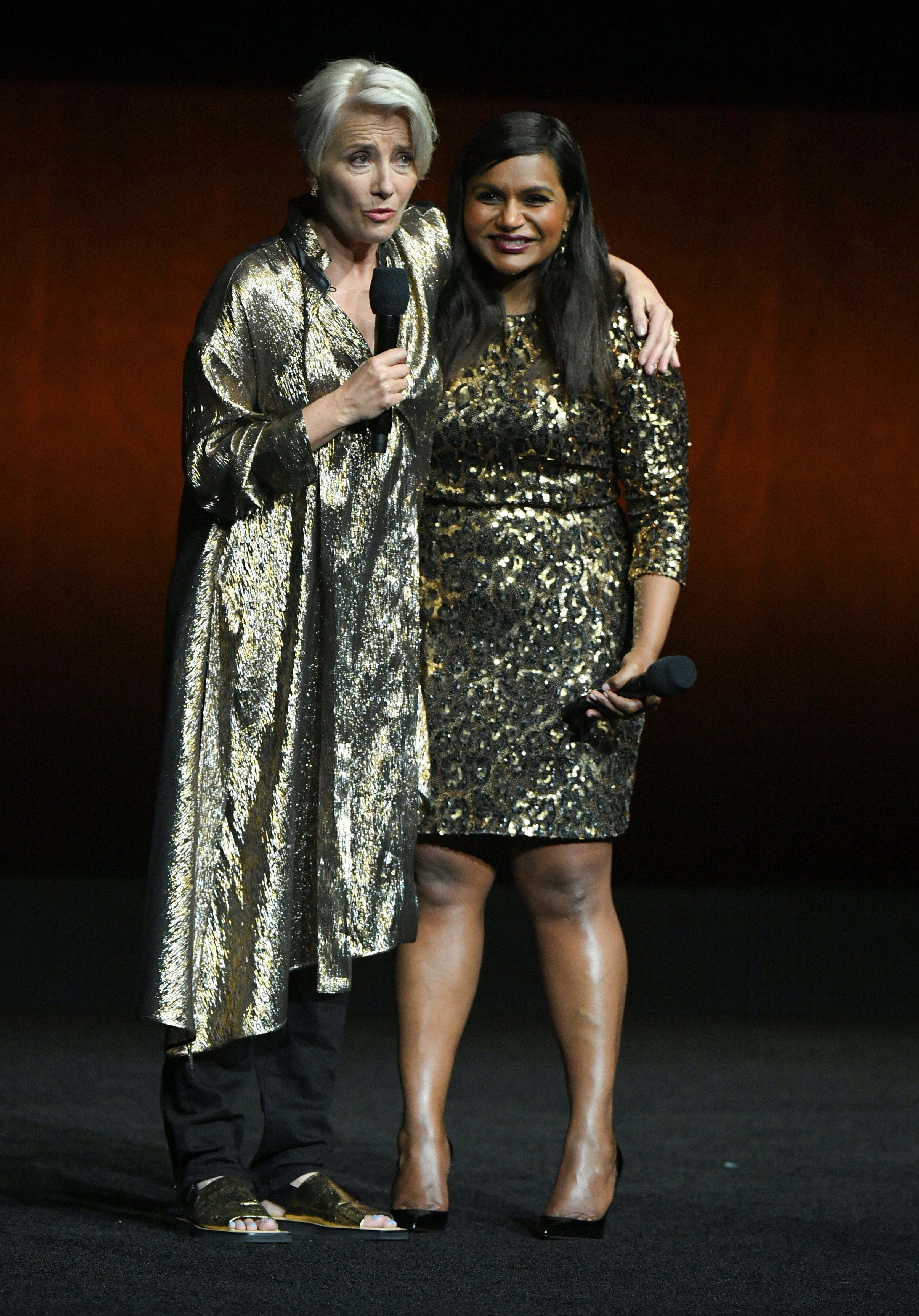 Watch Emma Thompson & Mindy Kaling Get Adorably Awkward While Reading Each Other Nice Tweets