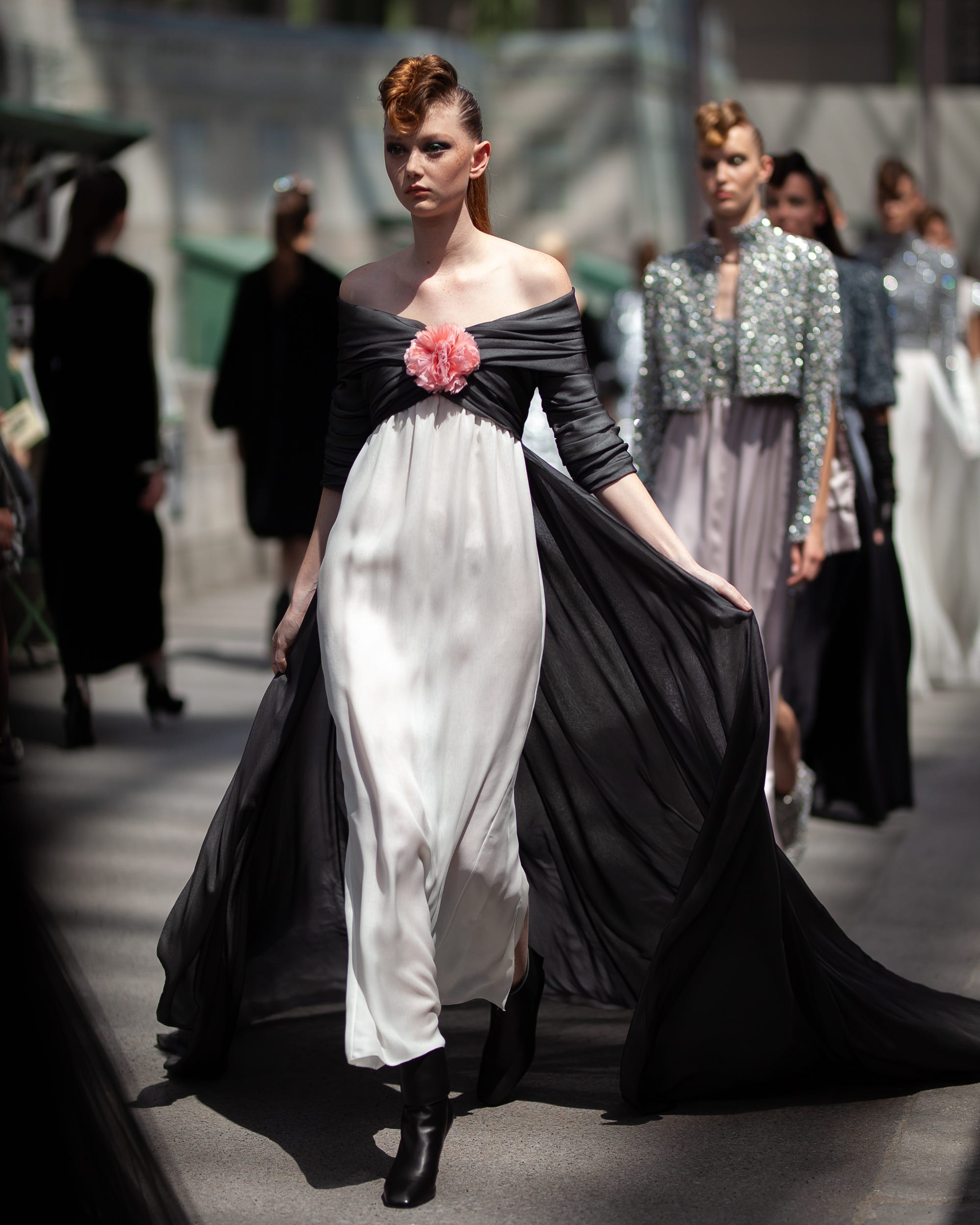 f13096e5 Chanel's Latest Couture Show Was More Than An Homage To Paris