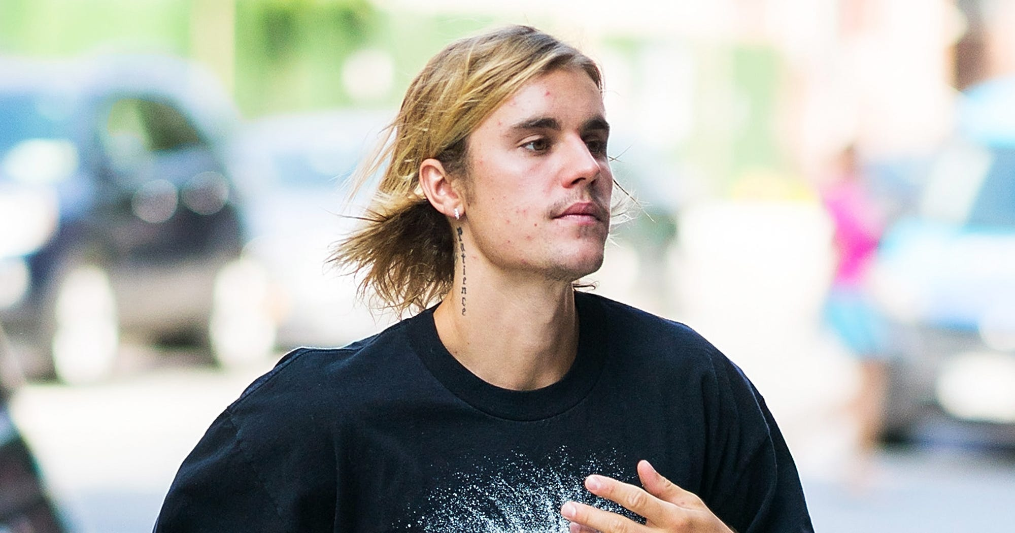 justin bieber got a spontaneous new haircut 2018