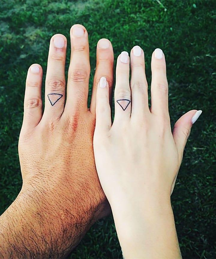 Engagement Ring Finger Tattoo Ideas