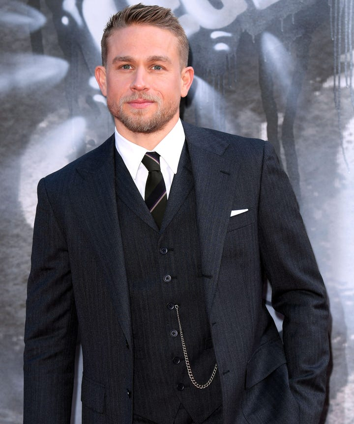 Image result for charlie hunnam james bond