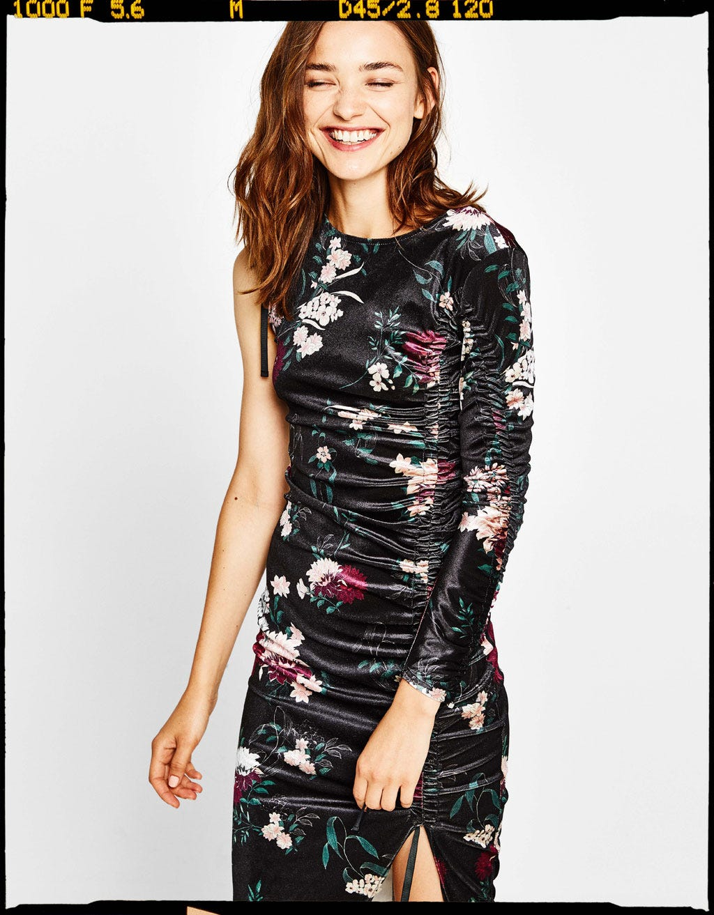 8bc7fc05dfa5 Cute Ways To Wear Floral Dresses In Winter