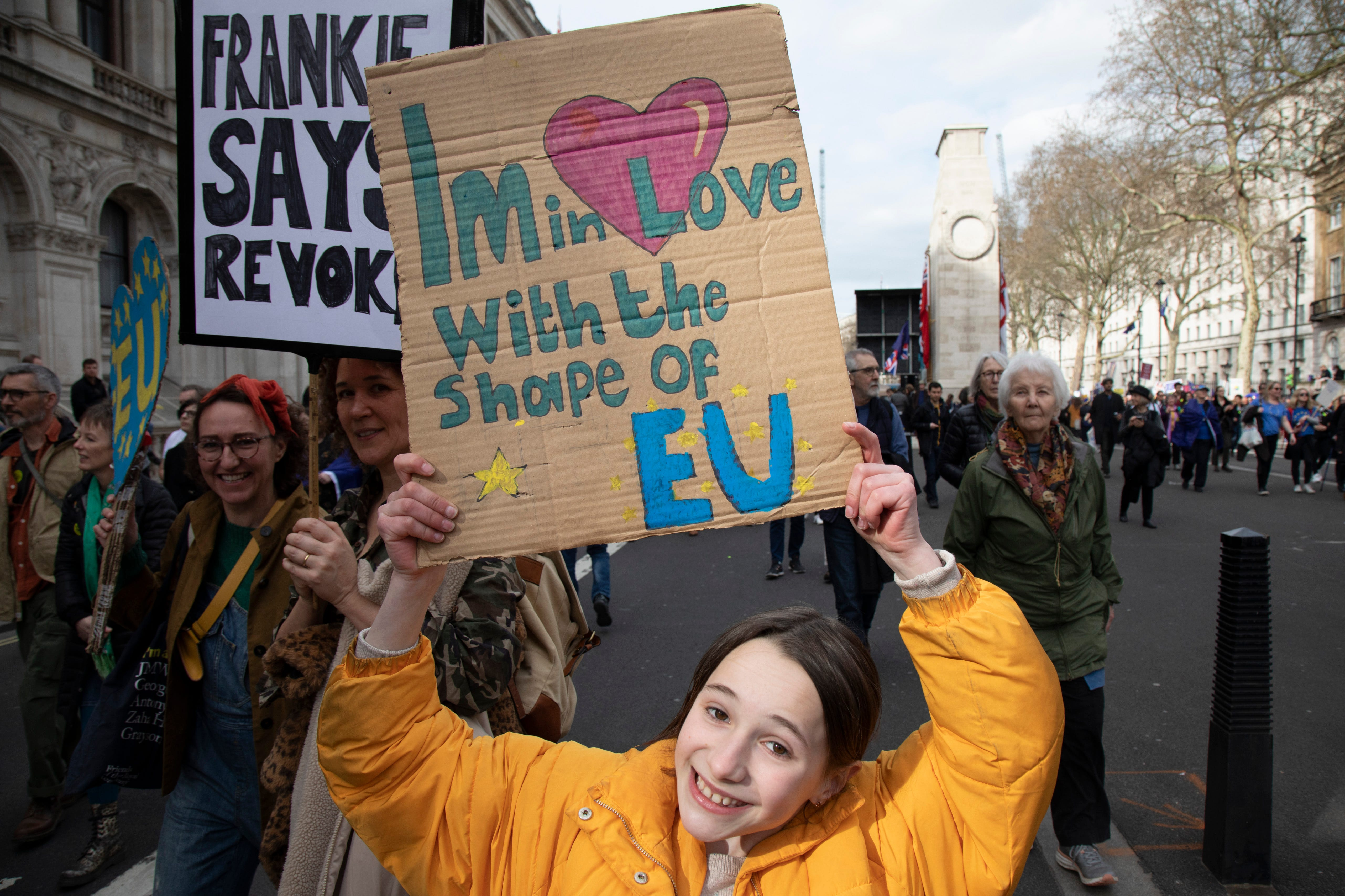 The Best Tweets & Signs From The Brexit People's Vote March In London
