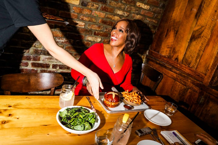 I Took My Former Boss, Gayle King, To Lunch & We Talked Breakups, Career Goals, & Yes, Oprah 2020 images 2