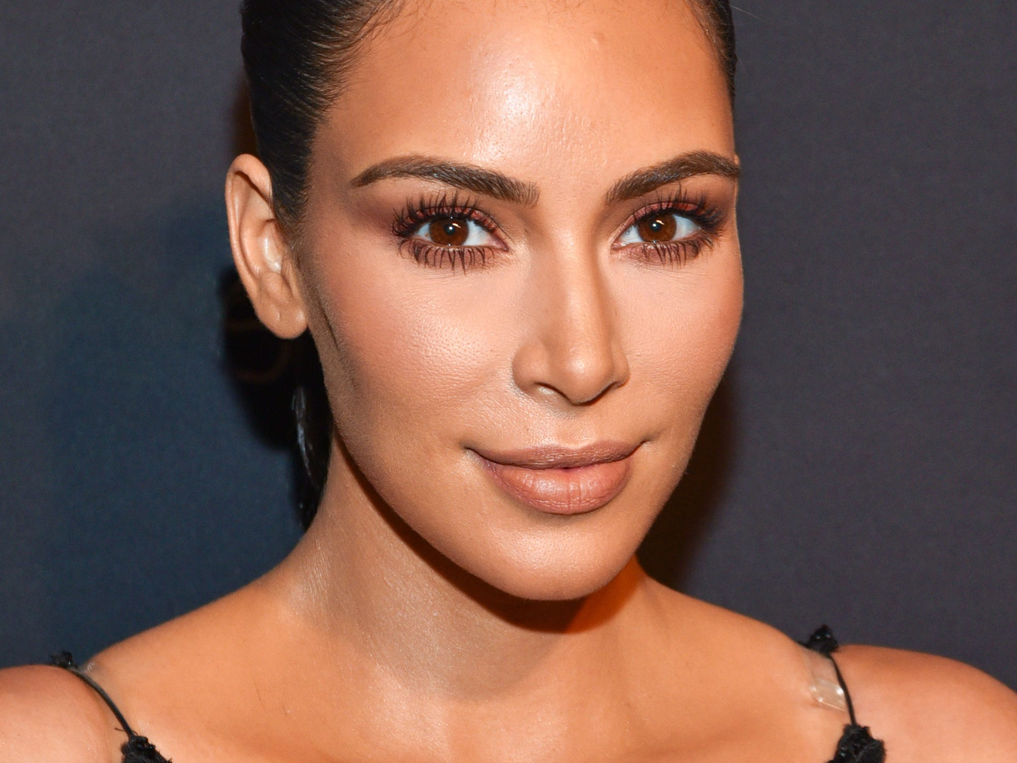 Kim kardashian app at home beauty routine baditri Images