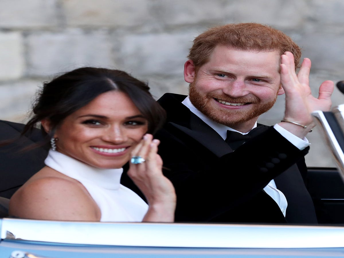 Meghan Markle s Reception Look Was Full Of Hidden Meanings
