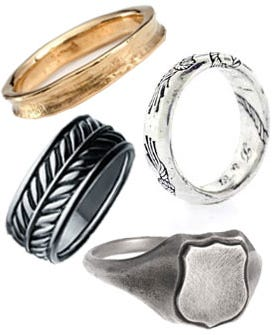 The Right Wedding Band For Your Man