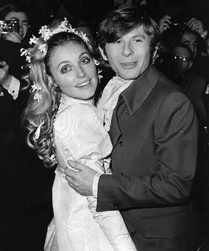 Roman polanski and sharon tate wedding pictures