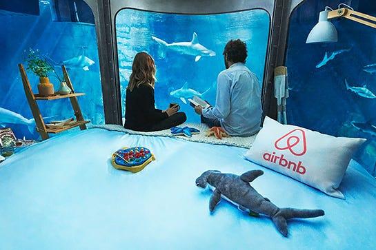 Underwater Hotel Room At Night Throughout Underwater Hotels Ocean Suites