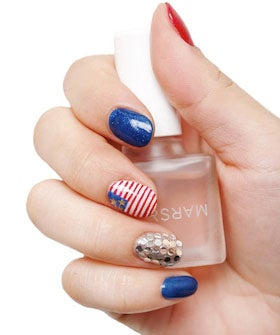 July 4th Nail Art Patriotic Manicure Designs