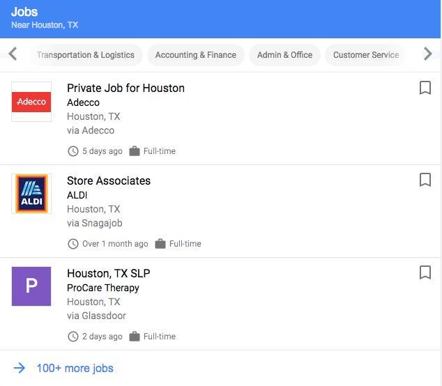 Google Job Search Guide Tricks - Find A New Job 2018