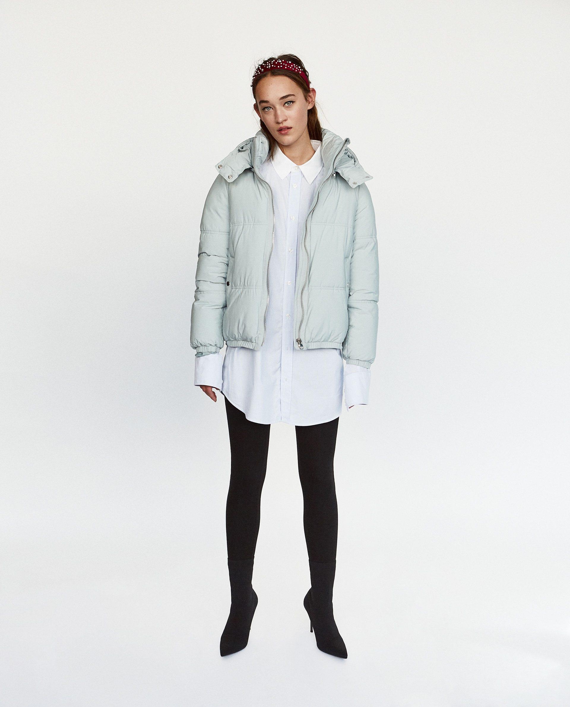 7a35cb0b Zara Winter 2017 Best New Puffer Jacket Coats Shop Now