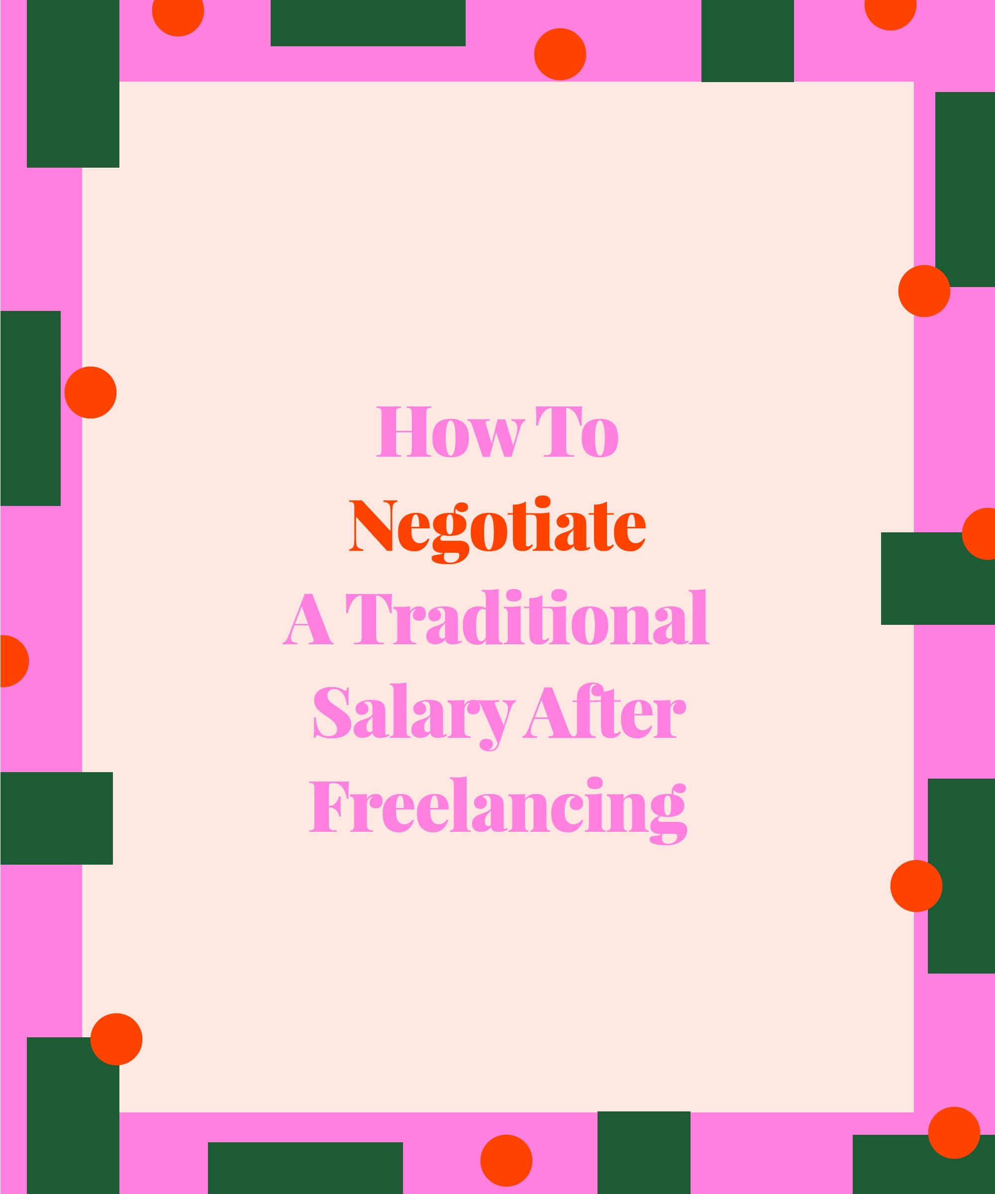 graphic designer ok with salary drop after freelancing