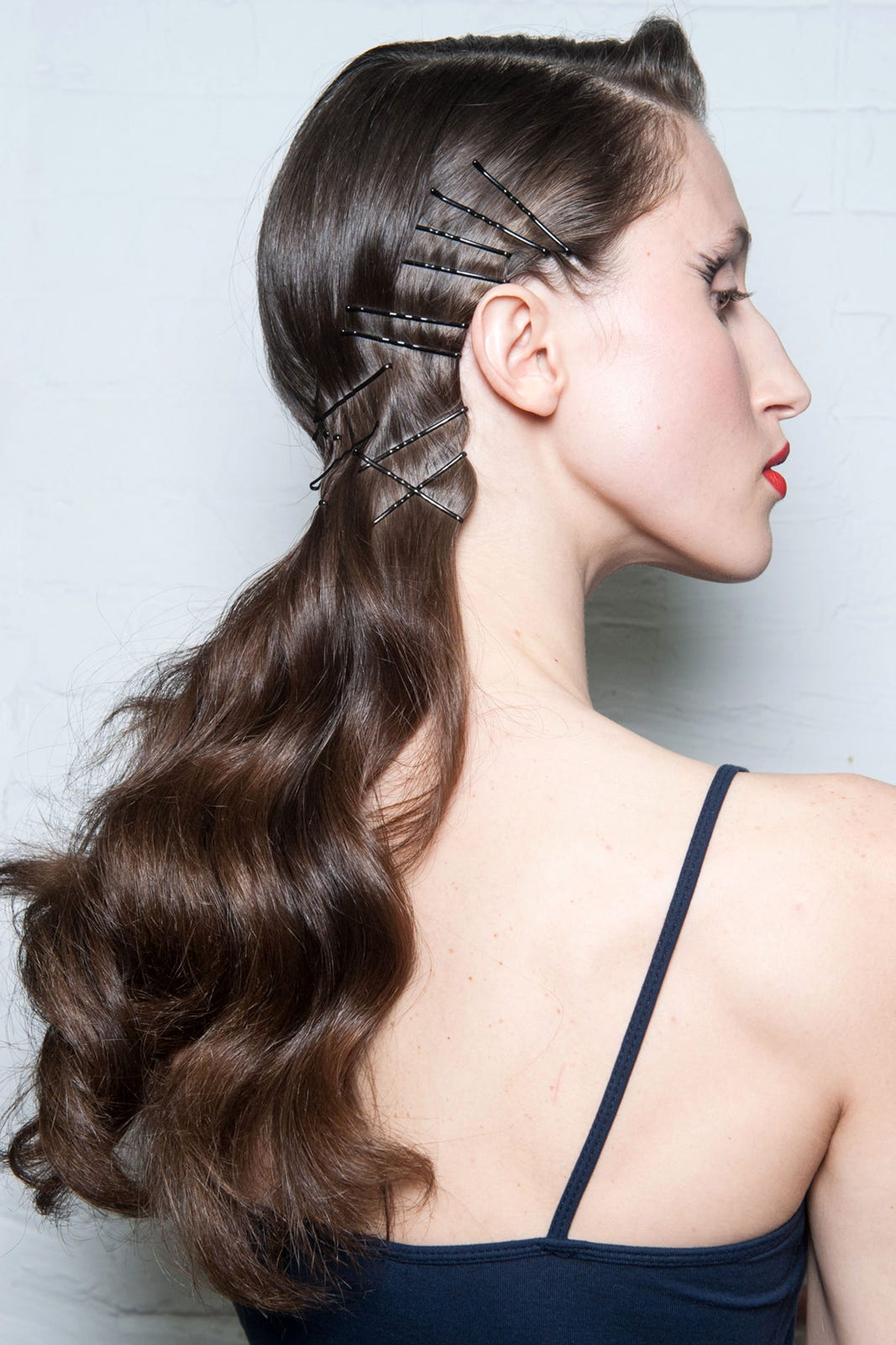 Bobby Pin Hairstyles Edgy Summer Hair