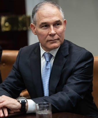 scott pruitt epa resigned resigns
