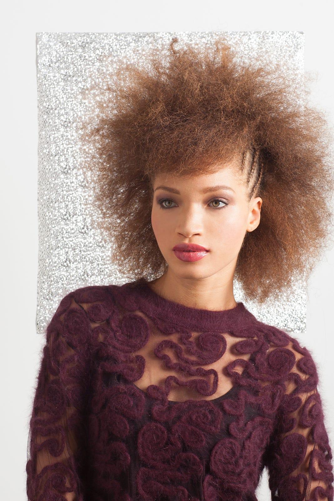 Natural Hairstyles Textured Hair Holiday Tutorials