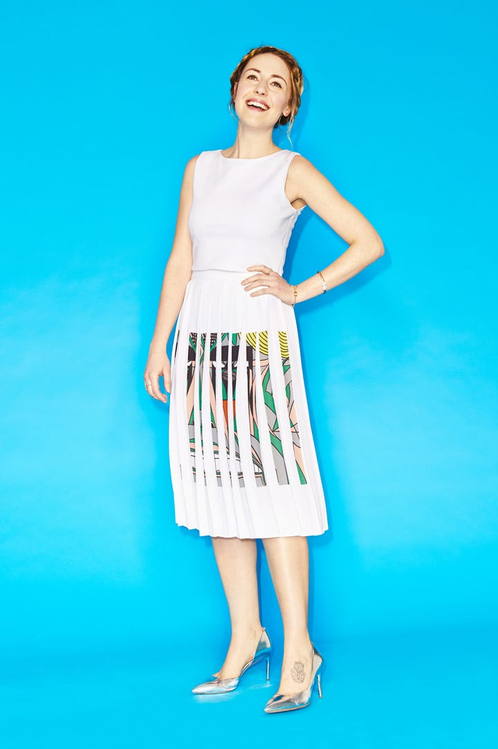 ... AZURE FASHION TURTLE TOP WHITE Best Powder Blue Clothing And Accessories Source Photographed by Aaron Richter