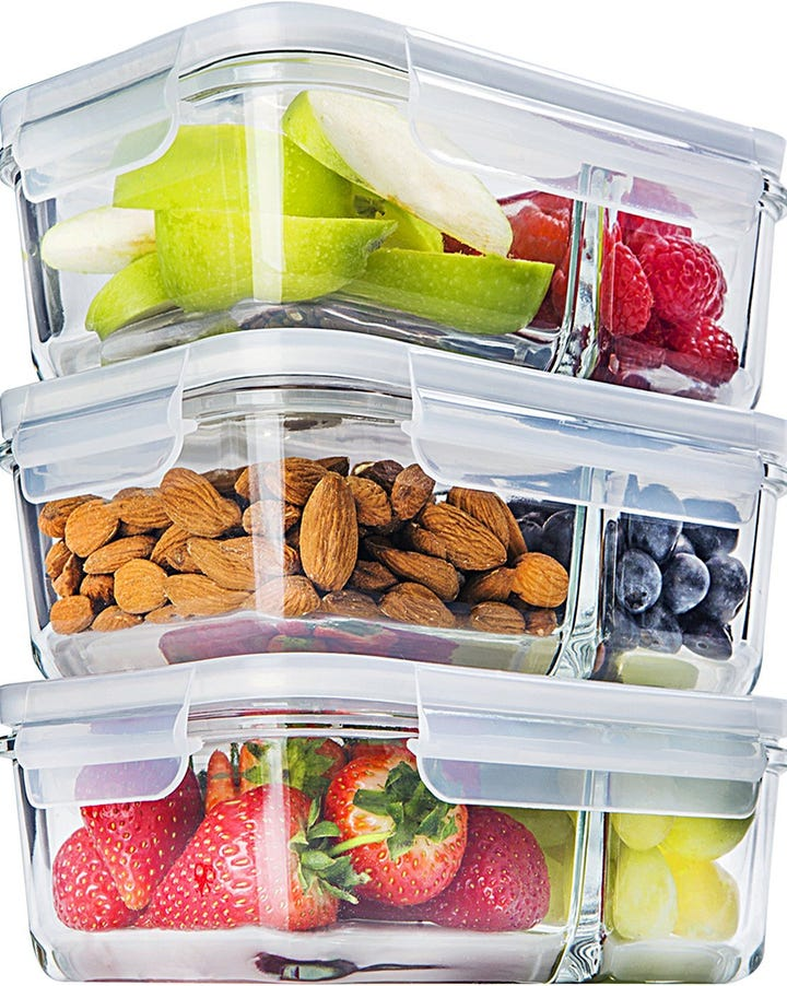 Best Salad Containers On The Go Food Storage Dressing