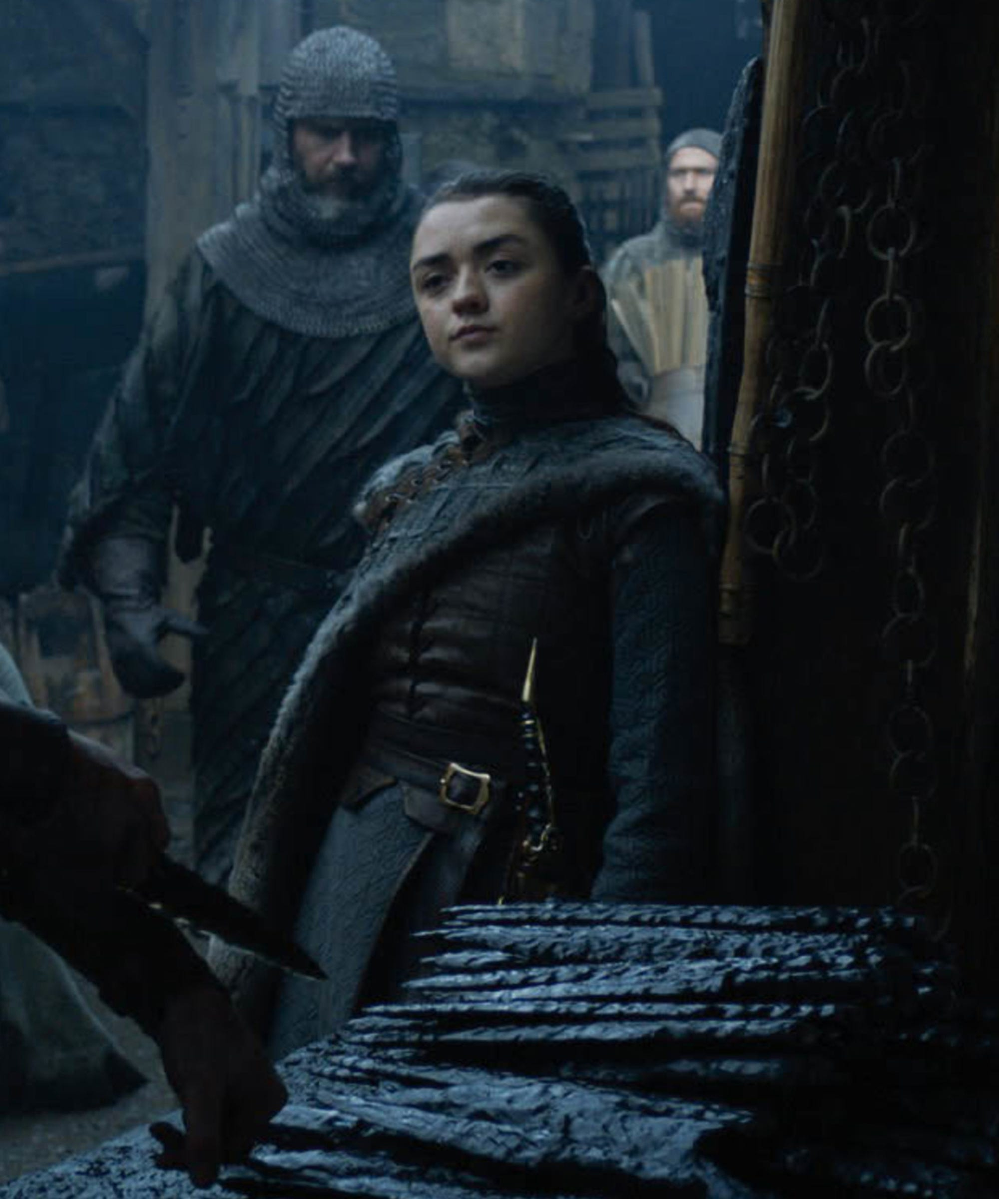 Maisie Williams Is Scared Of Her Family's Reaction To Her GOT Sex Scene
