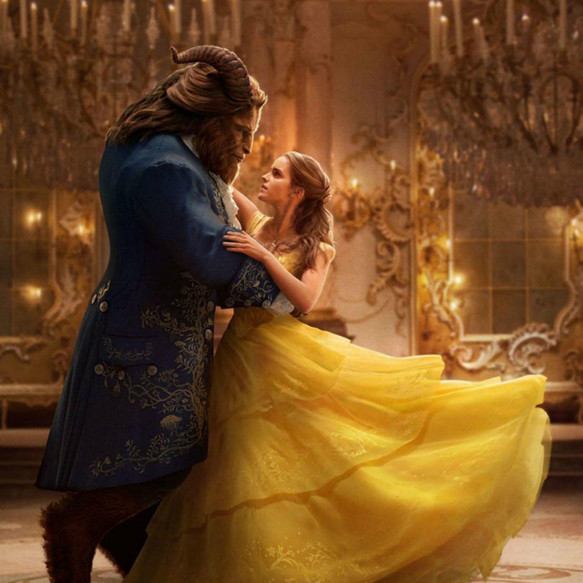 Emma Watson Beauty And The Beast Belle Wedding Dress