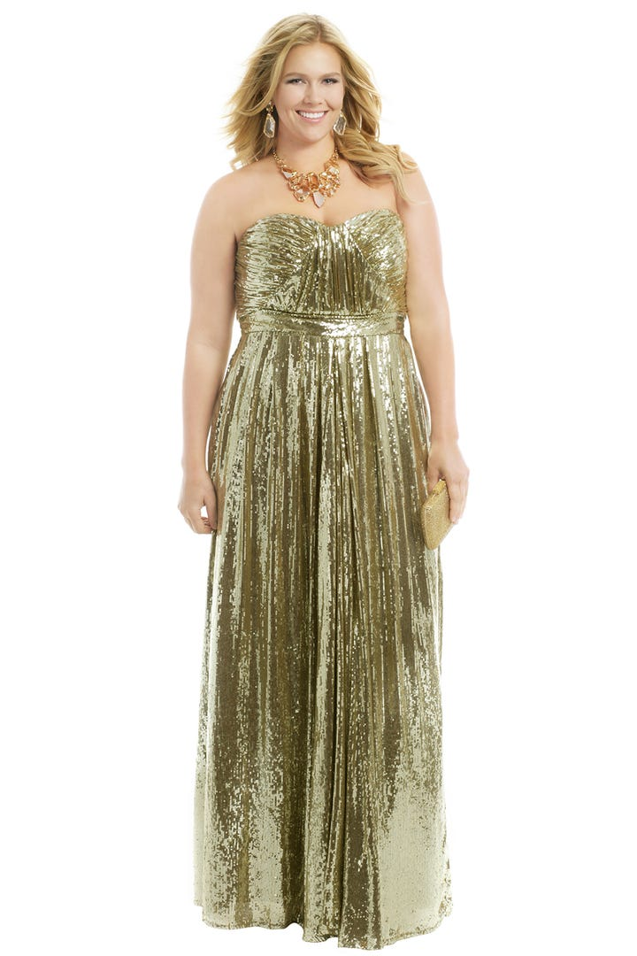 Rent The Runway Plus Size Formal Wear For Curvy Women