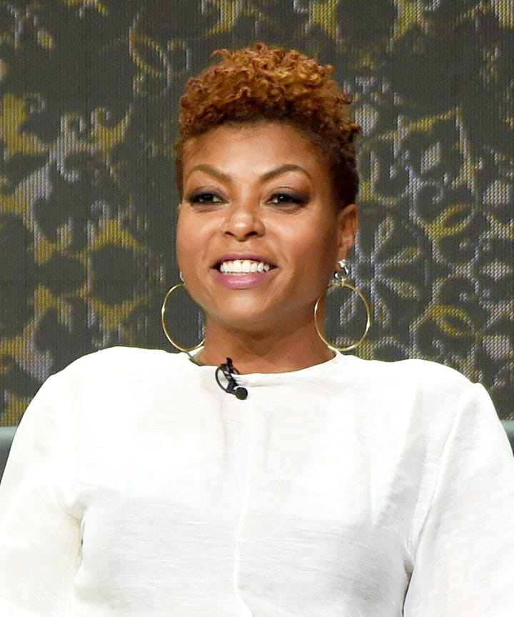 Taraji P Henson Undercut Stylist Big Chop Natural Hair