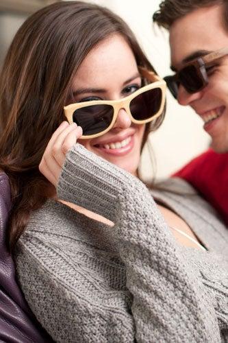 Discreet Women Cat Eye Glasses Metal Eyeglasses Frame With Glasses Sexy Girls Eyewear Oversize Plain Mirror Sunglasses Summer #238519 Women's Eyewear Frames