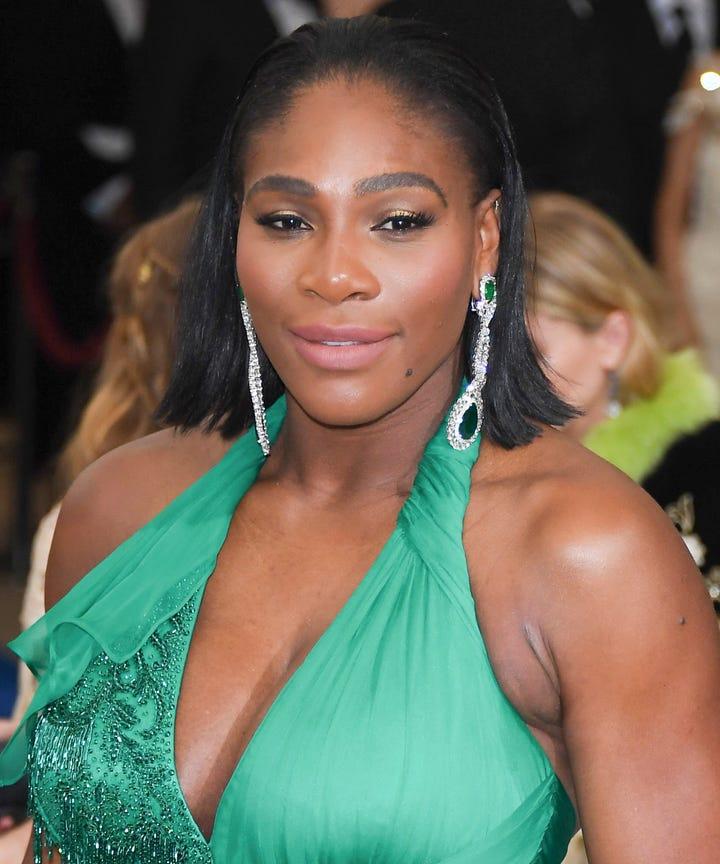 Serena Williams Always Wears These Hair Makeup Trends