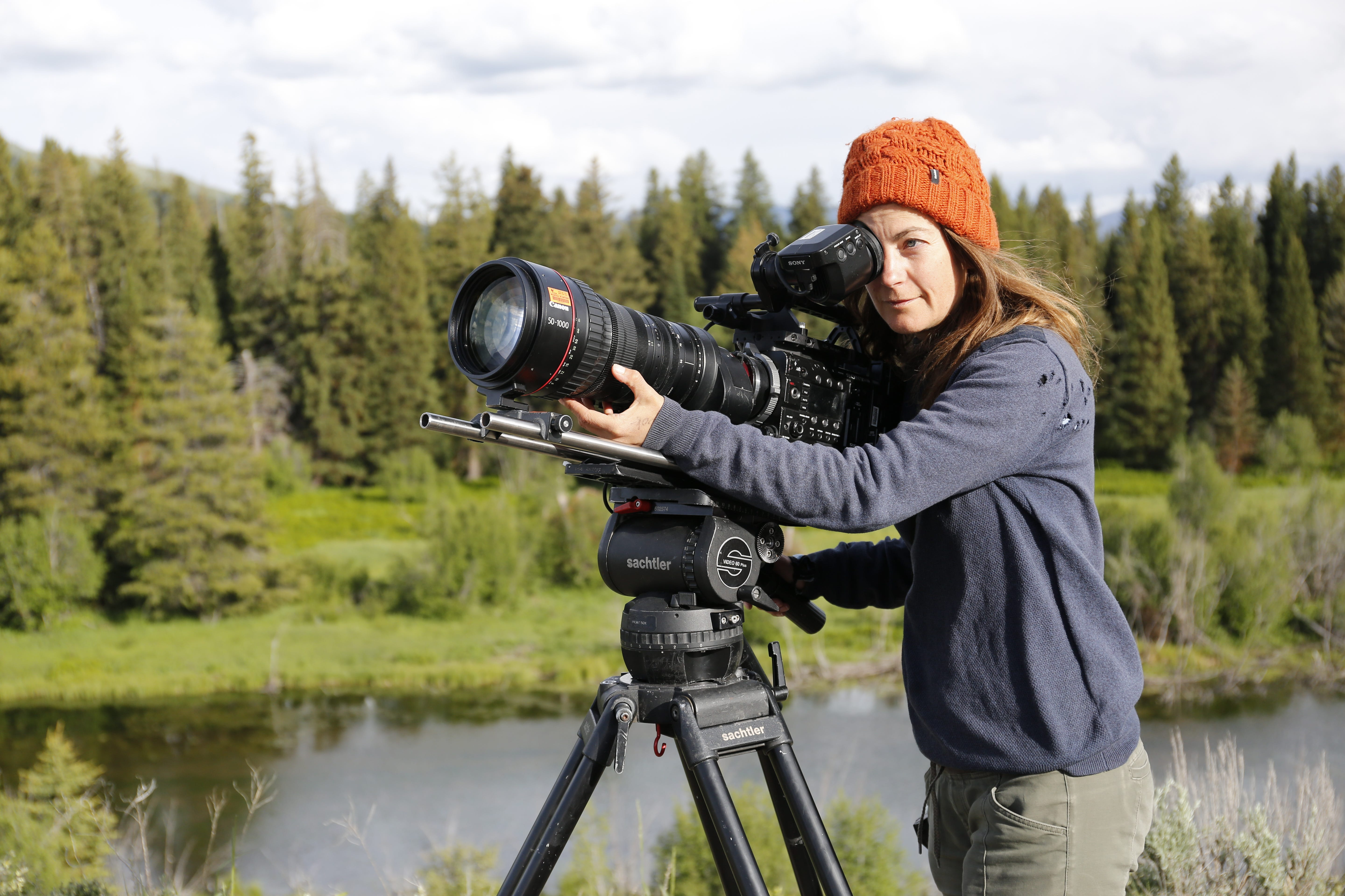 An Inside Look Into Wildlife Filmmaking From The Women Behind Yellowstone Live