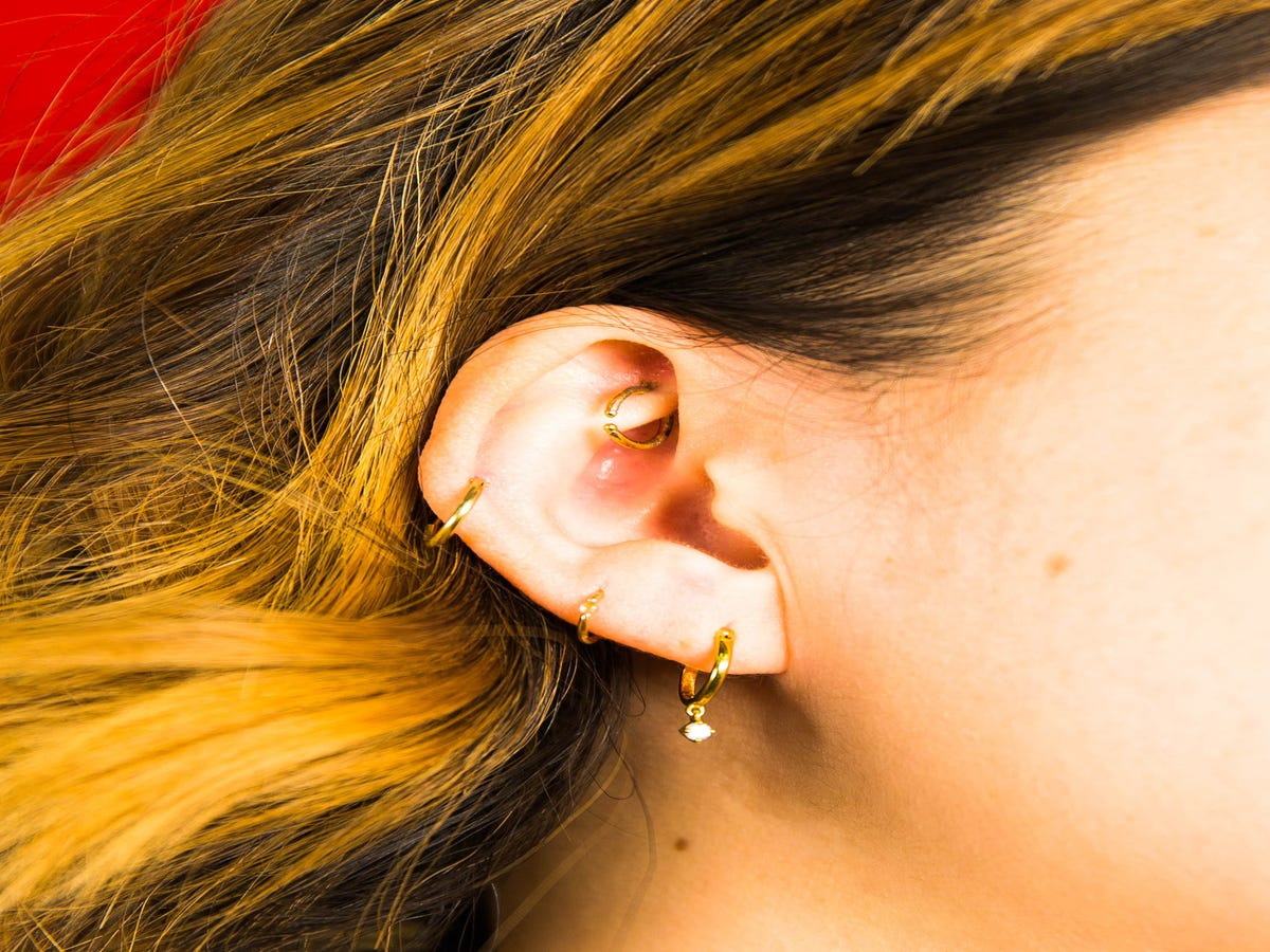 Constellation Piercings Are One L.A. Trend That Never Gets Old
