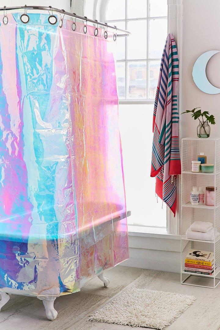 Cute Target Shower Curtains - Budget Bathroom Makeover