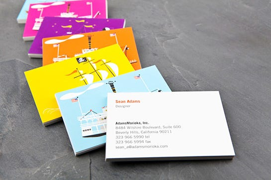 Business cards los angeles design letterpress reheart Choice Image