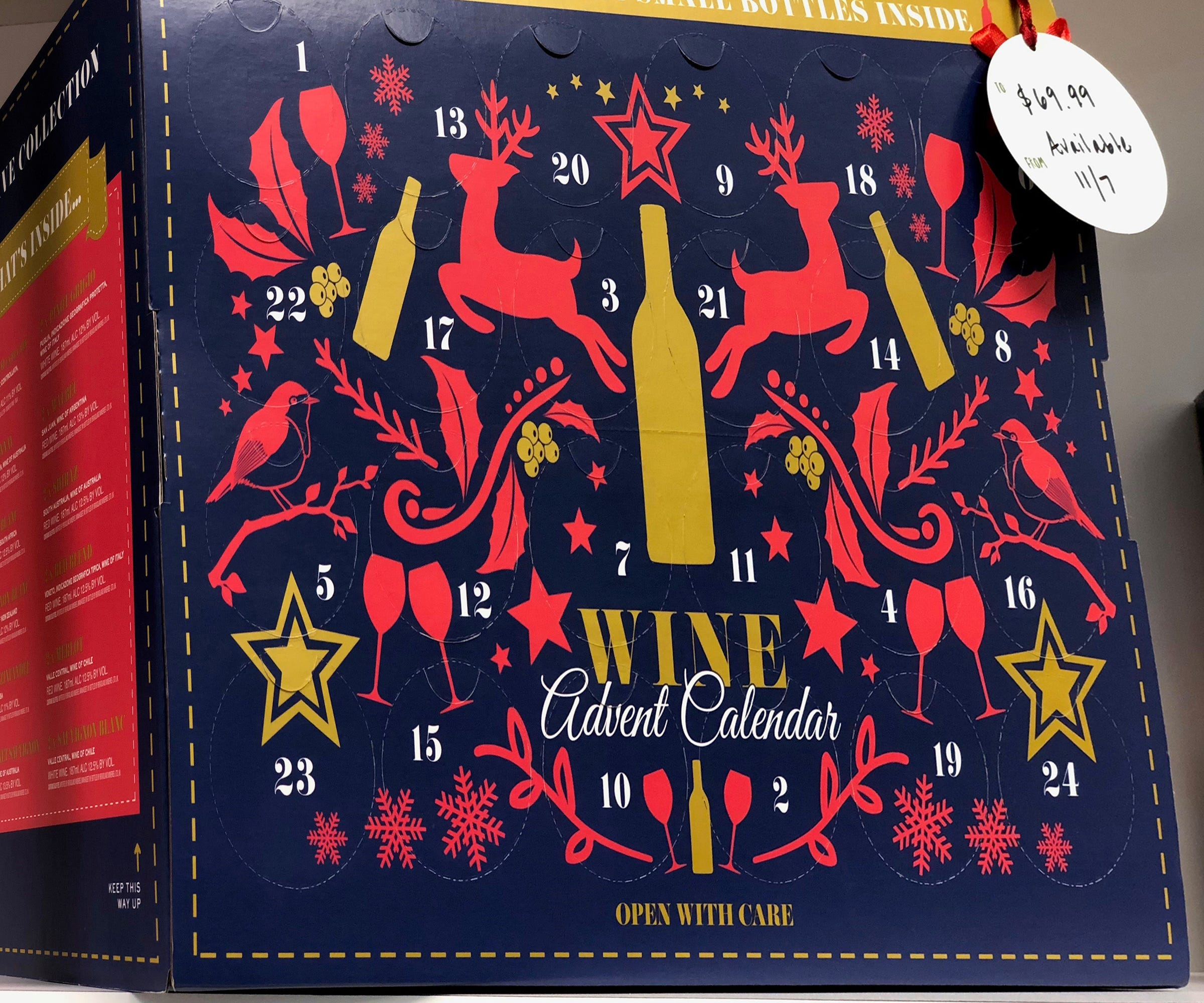 The Worlds First Wine Advent Calendar Is Here