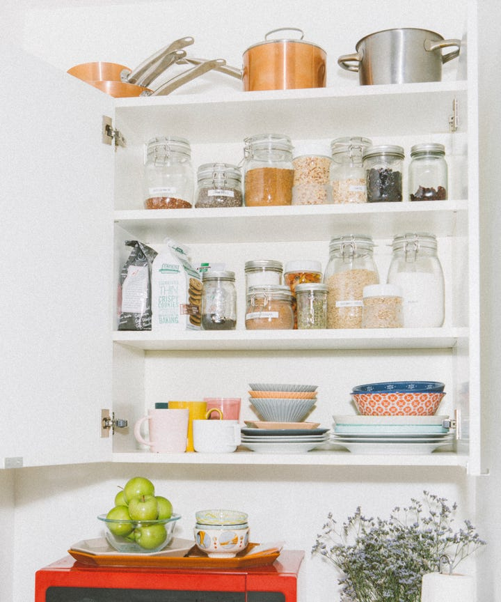 Declutter Your Home - How To Purge Food Clean Kitchen