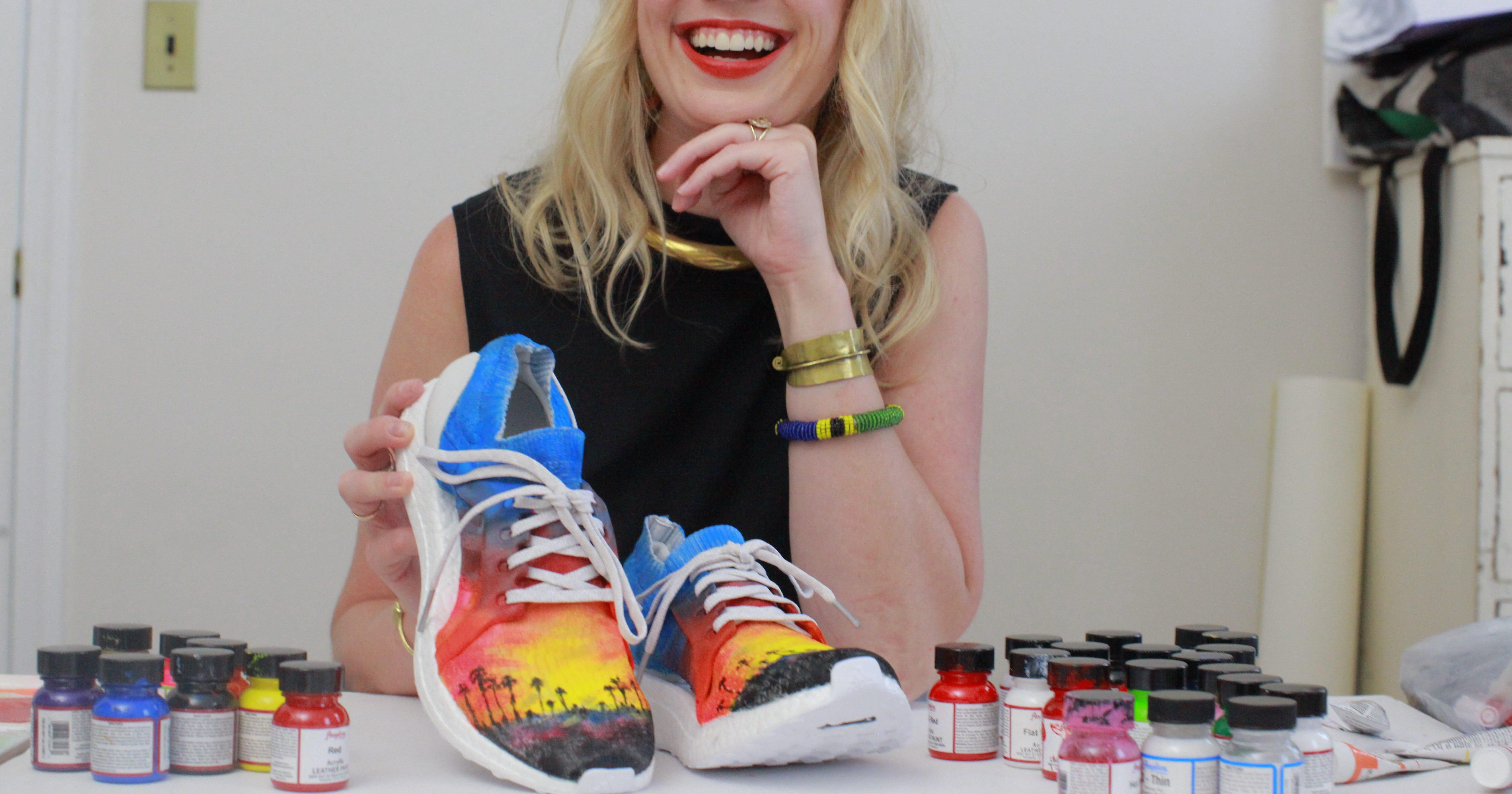 26f438bf5884 Adidas UltraBOOST Sneaker Artists Designs 50 States USA