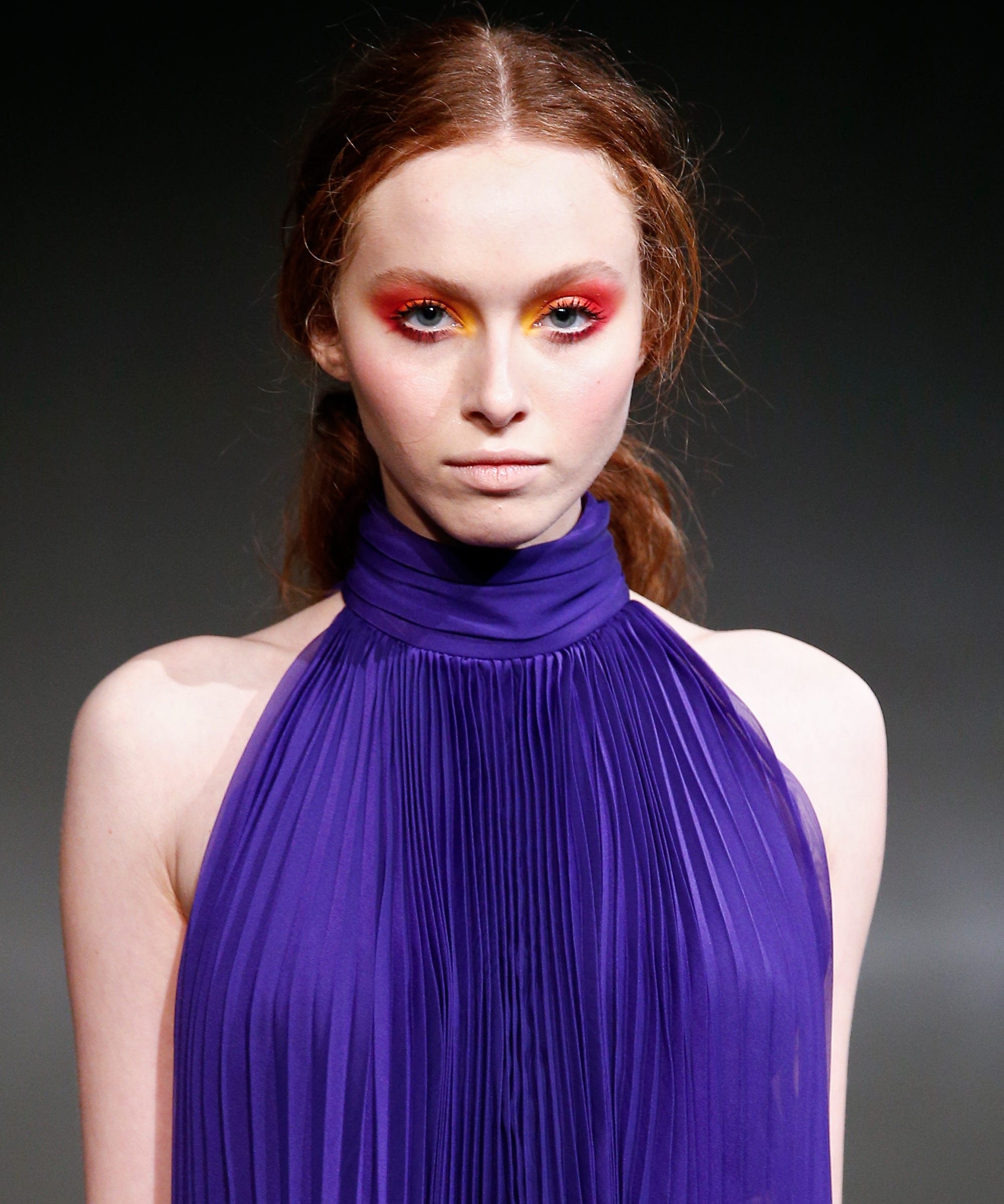 Beauty Trends Fashion Week Pink Makeup Smoky Eye Jill Lip Matte 13 Purplish Plum