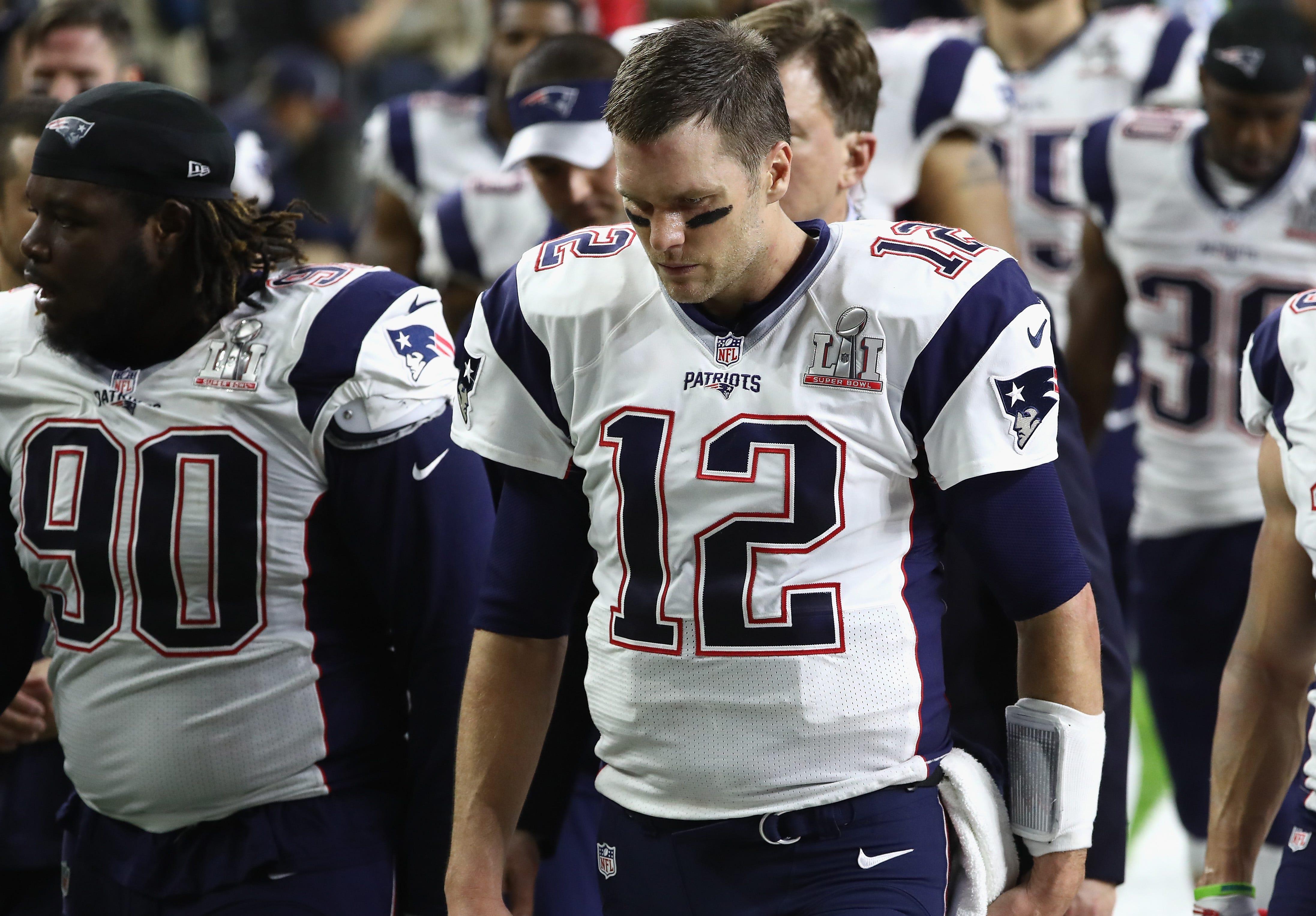 Twitter Sad Tom Brady Tweets Memes Super Bowl