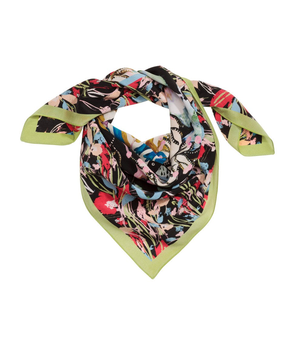 a03ac62896f Silk Scarves - How To Wear, Styles